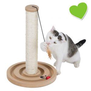 Zoolove Tronc à griffer Scratch & Play pour chat
